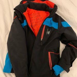 Spyder Ski coat size 8